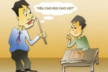 Thầy cô có được mắng chửi học sinh?