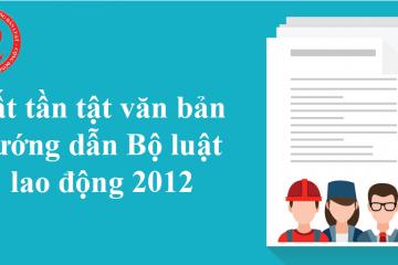 Thêm Nghị định hướng dẫn Bộ luật lao động 2012