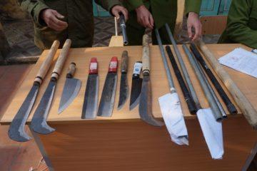 Những quy định pháp luật về hành vi tàng trữ trái phép vũ khí thô sơ ?